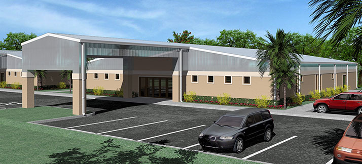 Victory Baptist Church Building Project Rendering